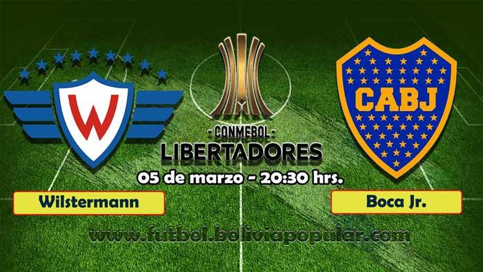 【En Vivo】Wilstermann vs. Boca Juniors - Copa Libertadores 2019