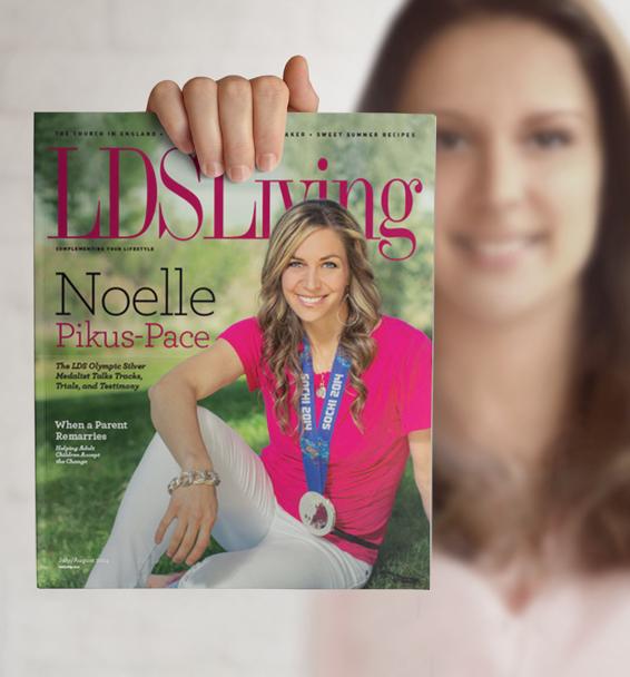 lds living magazine - 402×480