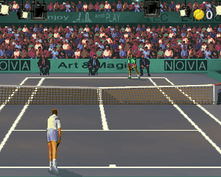 ultimate tennis mame