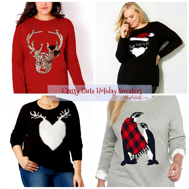 Christmas Sweaters in Plus Size