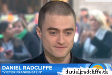 Daniel Radcliffe and James McAvoy on the Today Show