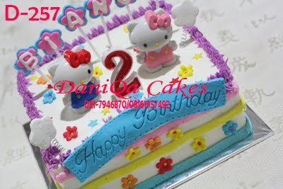 Daniqa Cake And Snack Kue Ulang Tahun Hello Kitty