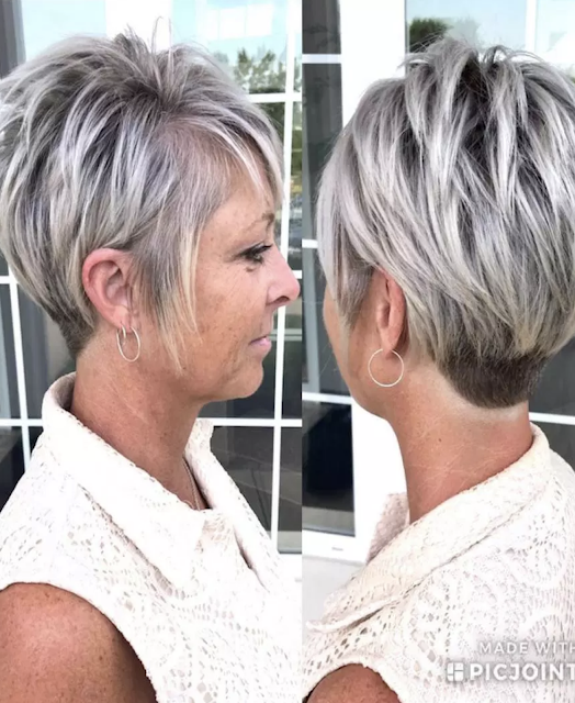 short hairstyles for over 40 years old
