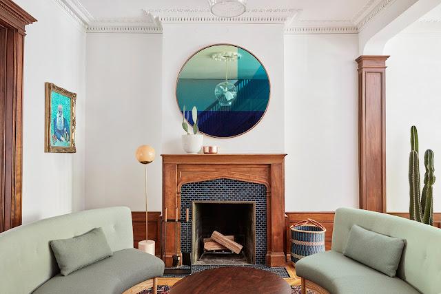 Дизайн-проекты. Реконструкция старинной квартиры в Нью-Йорке