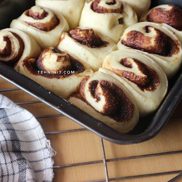 Roti Santan Gulung Kayu Manis