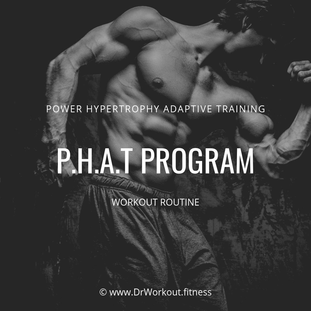 Power Hypertrophy Adaptive Training PHAT Workout Routine