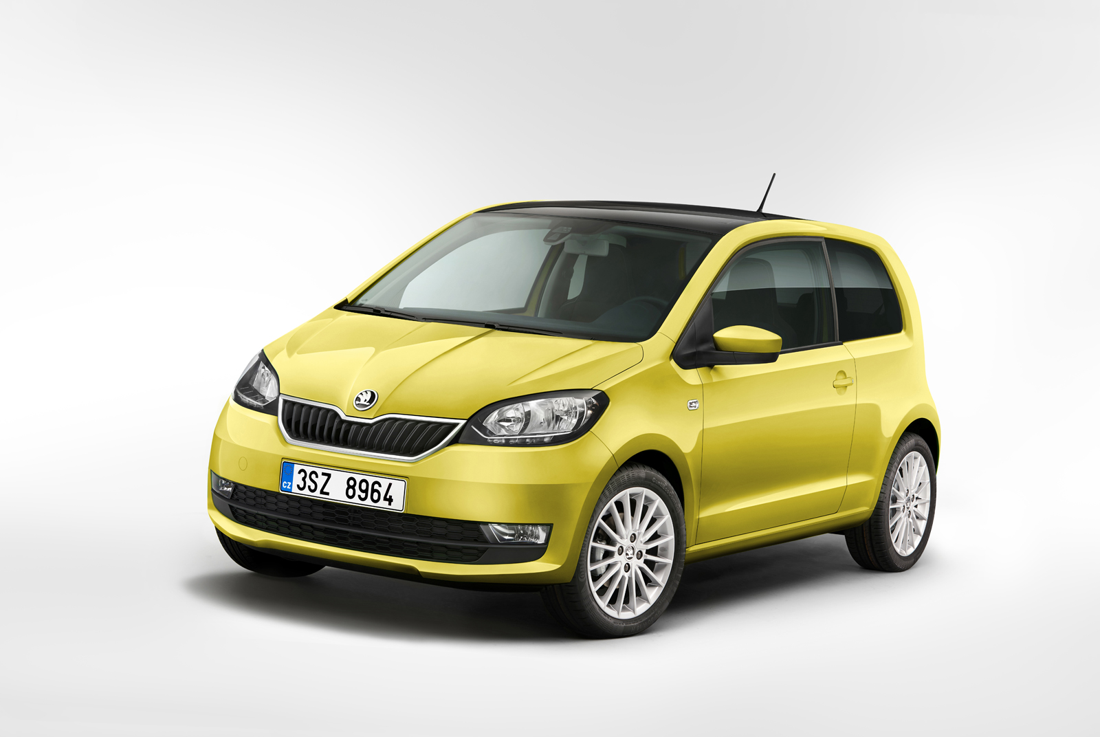 skoda up dates the citigo with fresh metal equipment. Black Bedroom Furniture Sets. Home Design Ideas