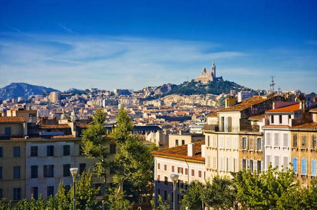 Cidade de Aix-en-Provence na França