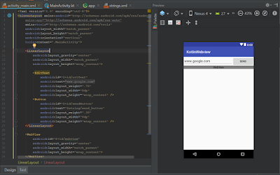 Android Studio - WebView Kotlin