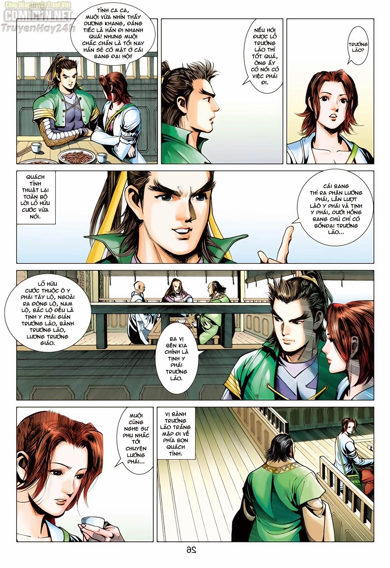 Anh Hùng Xạ Điêu anh hùng xạ đêu chap 65: cái bang tân chủ trang 26