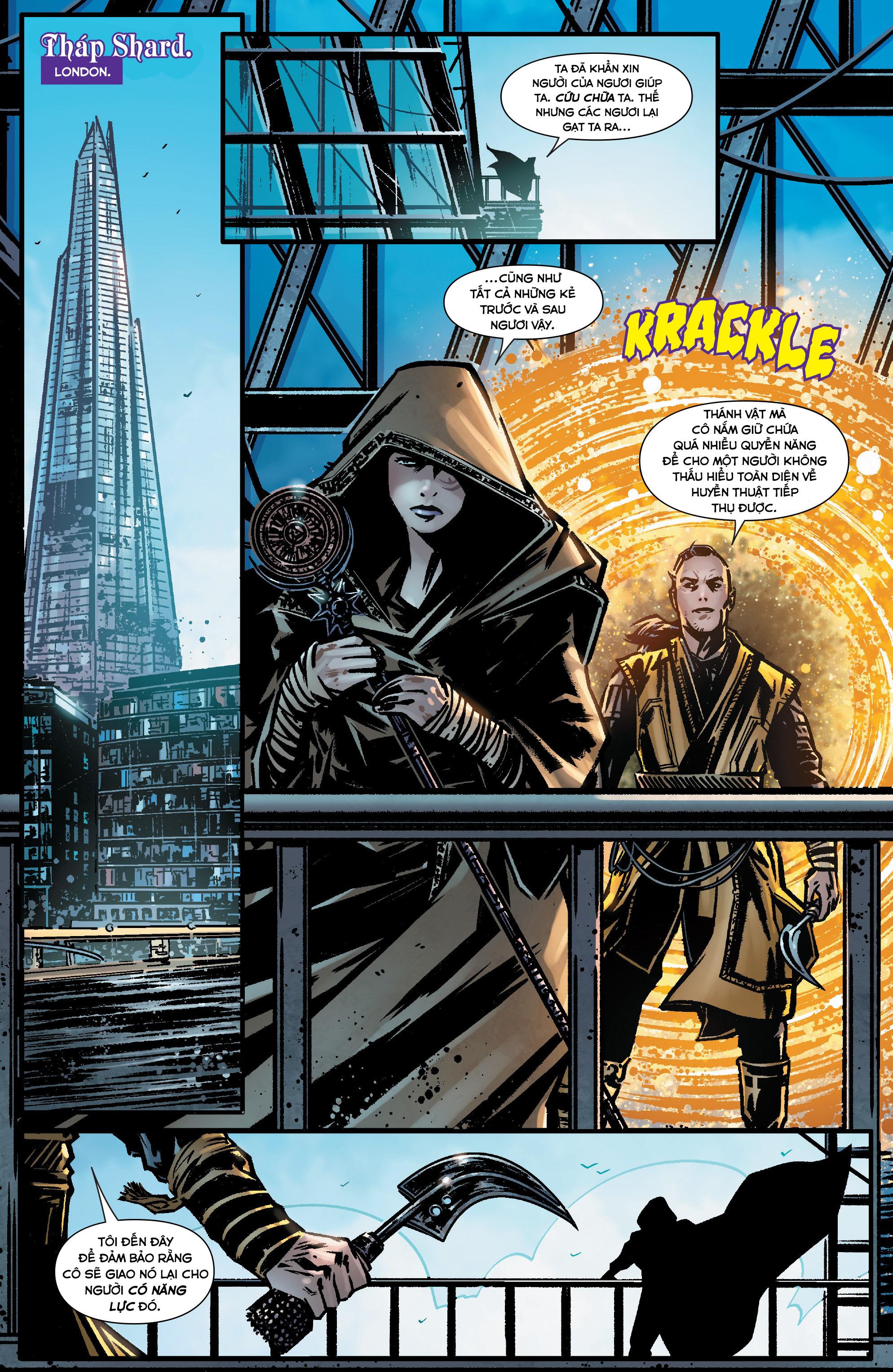 Doctor Strange Prelude kỳ 1 trang 7