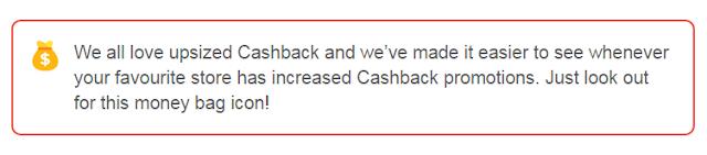 cashback tinggi