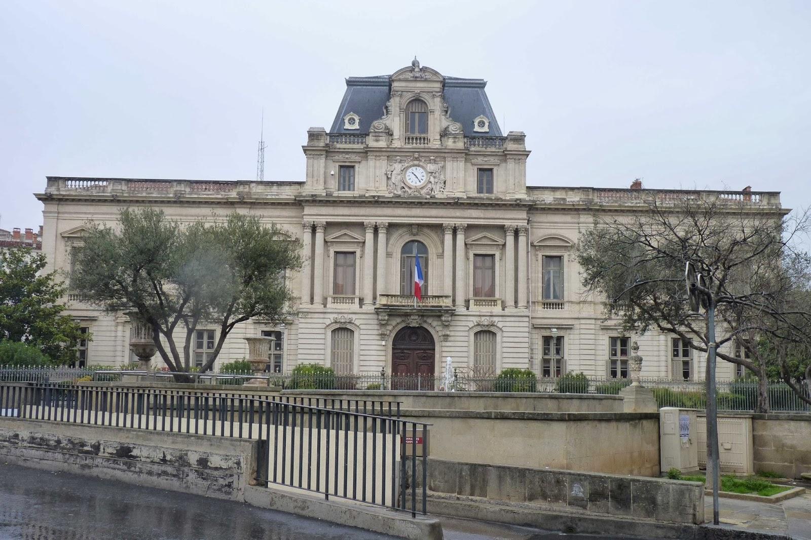 Edificio de la Prefectura de Montpellier.