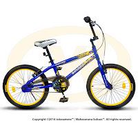 Sepeda BMX Wimcycle Batman Lisensi 20 Inci