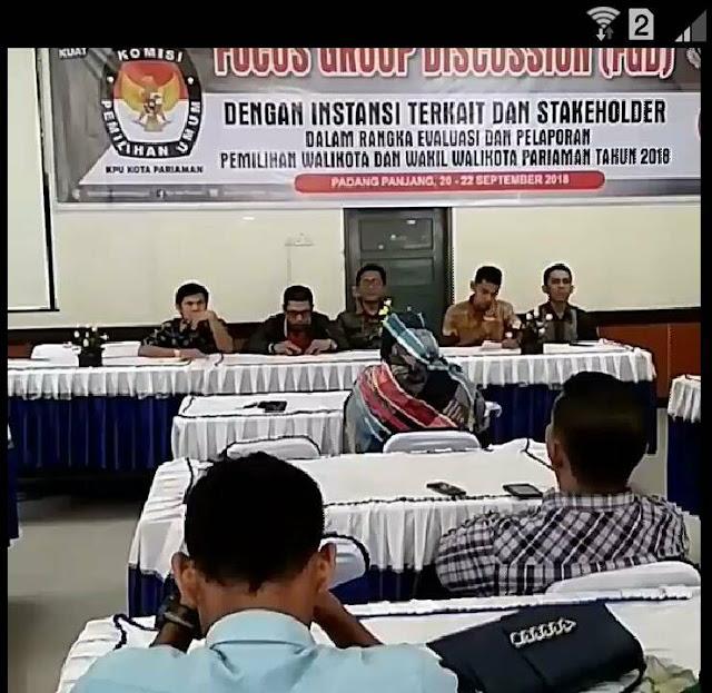 FGD Evaluasi Pilkada, KPU: Filosofi Batabuik Terwujud di Pilwako Pariaman