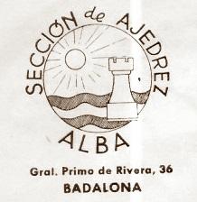Emblema del Club Ajedrez Alba