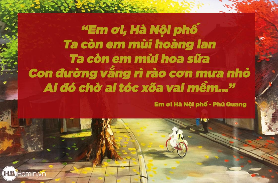 Em ơi Hà Nội phố của Phú Quang