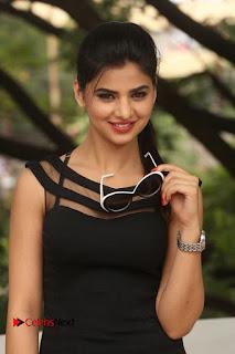 Actress Kamna Ranwat  Pictures in Black Short Dress at Selfie Raja Interview  0093