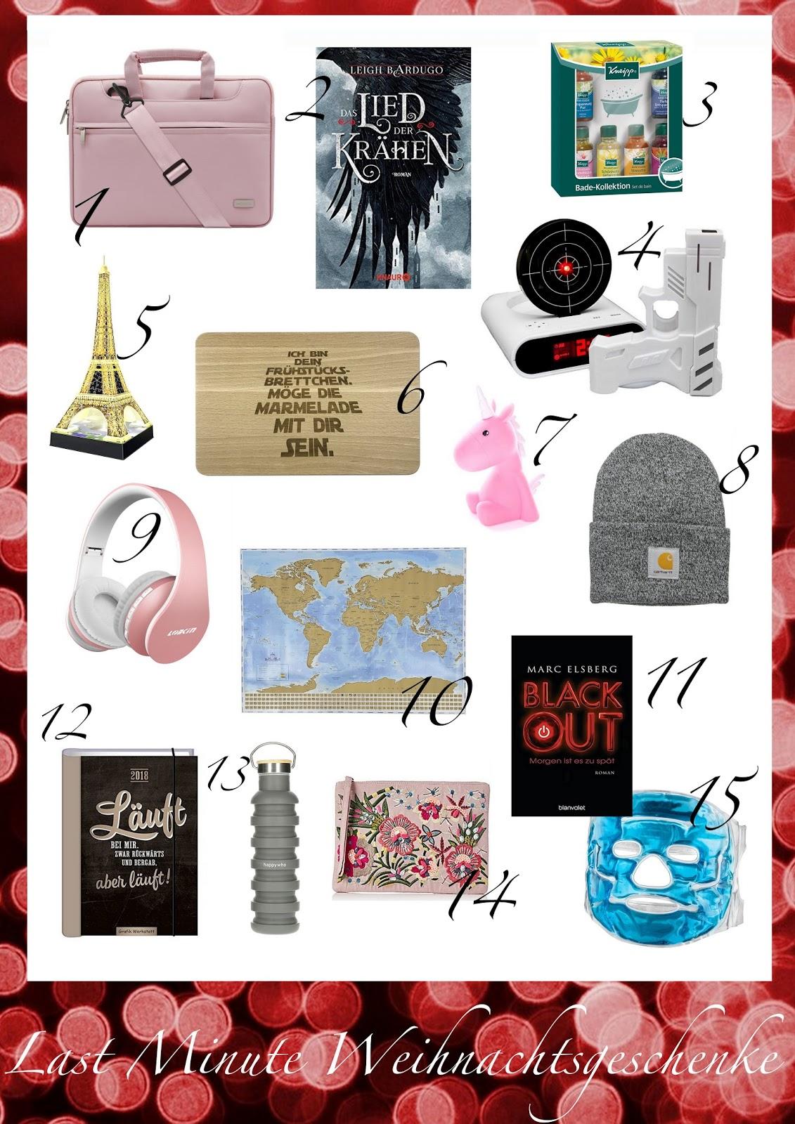 Last Minute Weihnachtsgeschenk-Ideen unter 30 Euro | The Fashionable ...