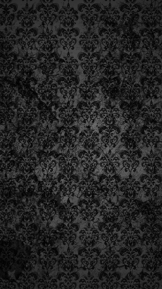 Black Lace Dark Grunge Pattern  Galaxy Note HD Wallpaper