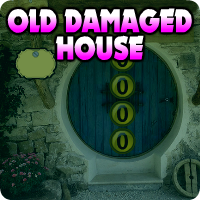 AvmGames Old Damaged House Escape