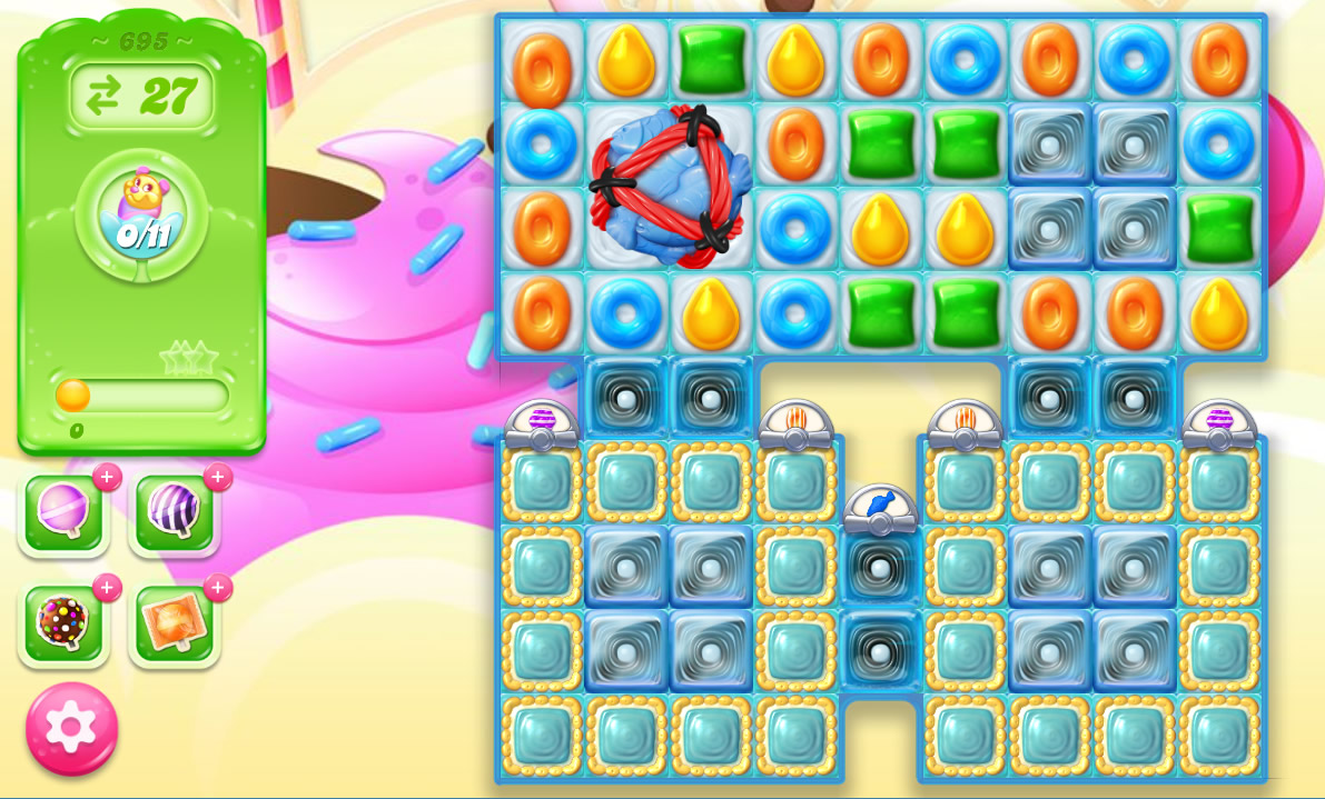 Candy Crush Jelly Saga level 695