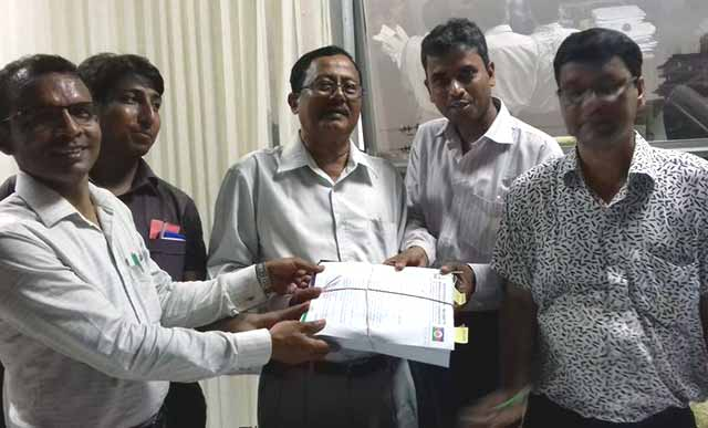 Bangladesh Congress revised application for registration
