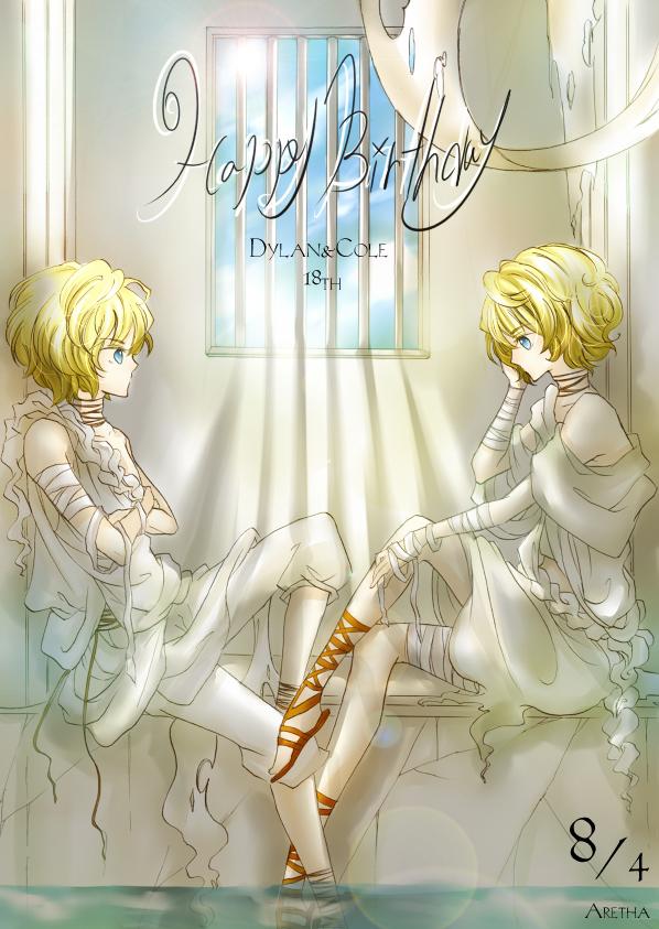 Blond hair anime girl
