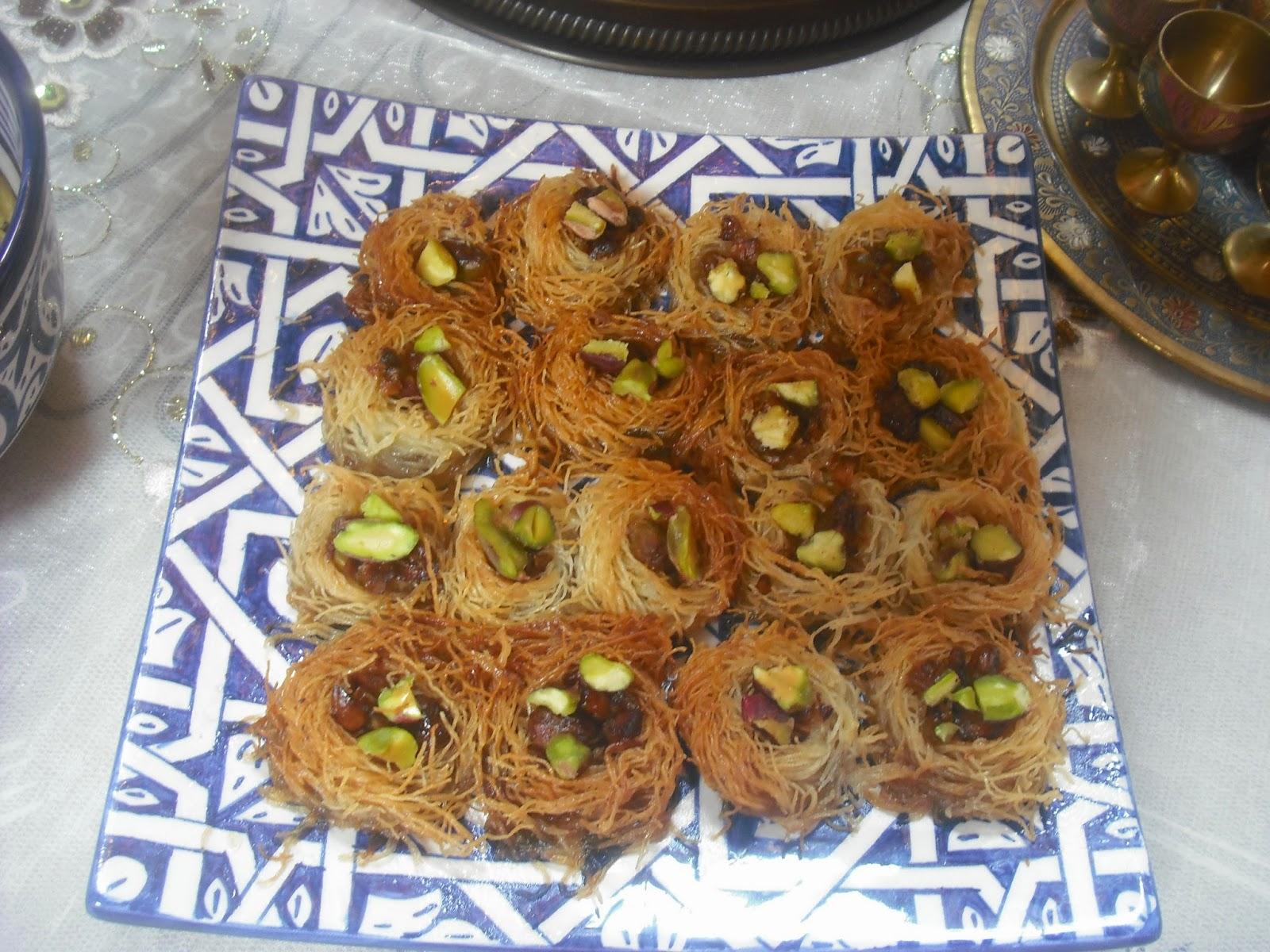 Operaci n pastelito nidos con pasta kataifi y pistachos - Que hacer con la pasta filo ...