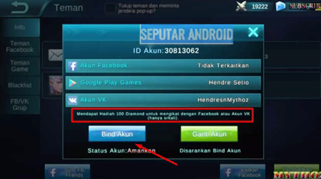 Update Cara Hack/Cheat Diamond Mobile Legends Root Dan Tanpa Root Di Android Dan PC Terbukti Work!