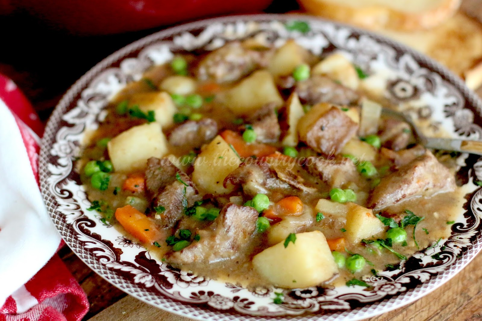 how to cook tenderized beef stew