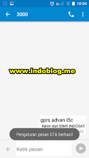 setting gprs indosat android