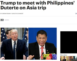 President Rodrigo Duterte next month during a five-nation trip to Asia, the White House announced Monday.    The Nov. 13 meeting will occur during the Association of Southeast Asian Nations (ASEAN) summit in the Philippine capital of Manila.