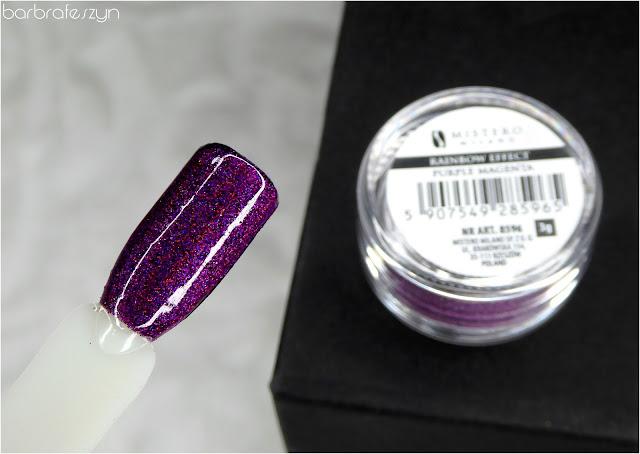 Efekt tęczy - Purple magneta