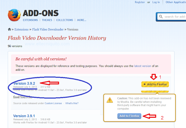 Flash-video-downloader Chrome Android Fusionieren