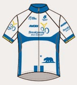 Amgen Breakaway from Cancer® Most Courageous Rider Jersey