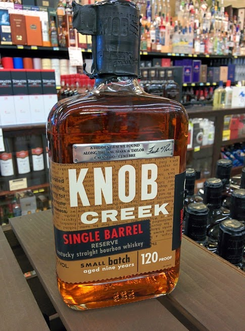 Knob Creek Single Barrel at Calandro's
