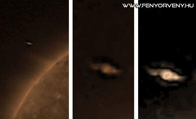 Rejtélyes idegen űrhajó kering a Nap körül