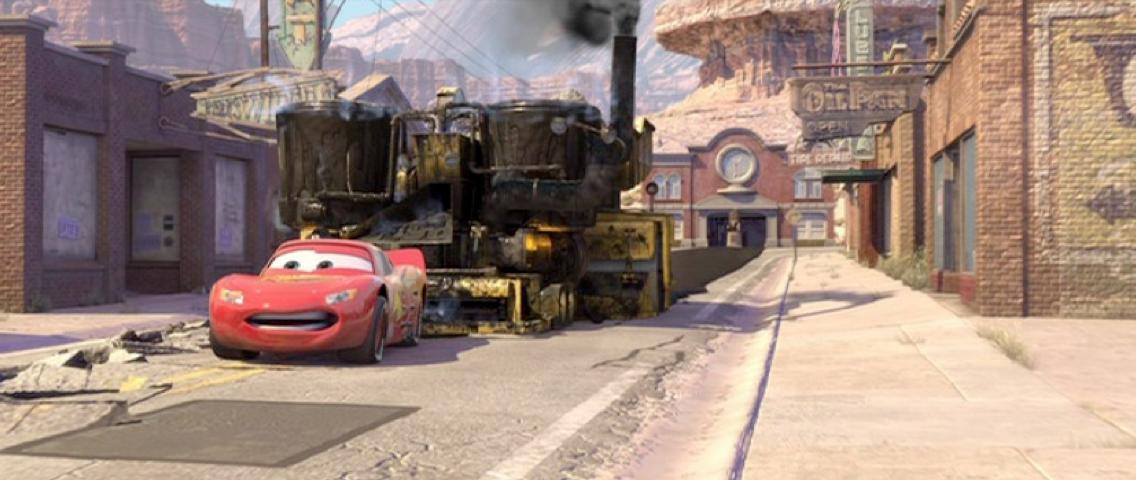 Dan the Pixar Fan: Cars: Bessie (2016 Release)