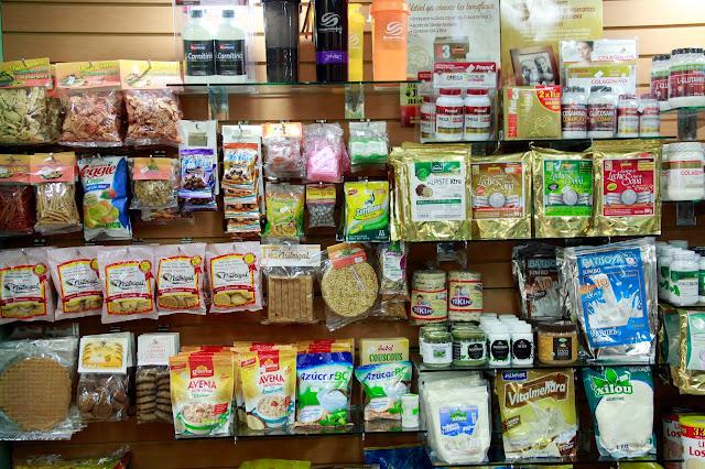 Tiendas de Nutrición y Orientación sobre suplementos