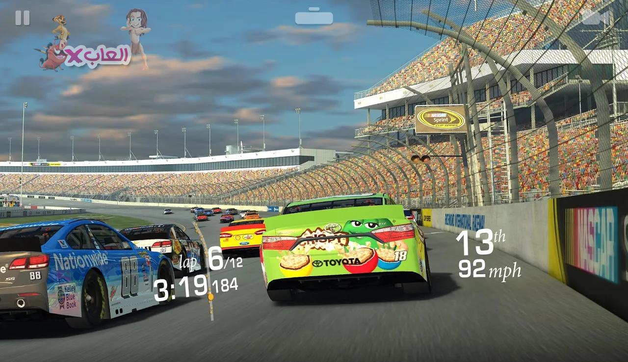 تحميل لعبة Real Racing 3  مهكرة للاندرويد