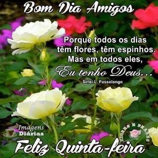 Imagens Bom Dia Feliz Quinta Feira