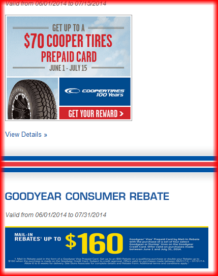 Dunn Tire Coupons