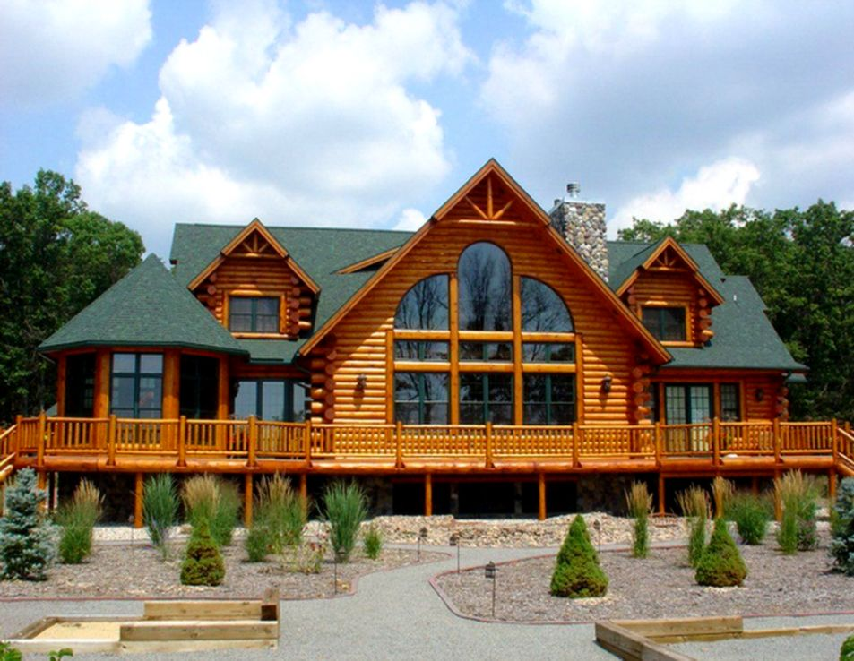 Log Cabin Homes Designs | Inspiration Wallpapers