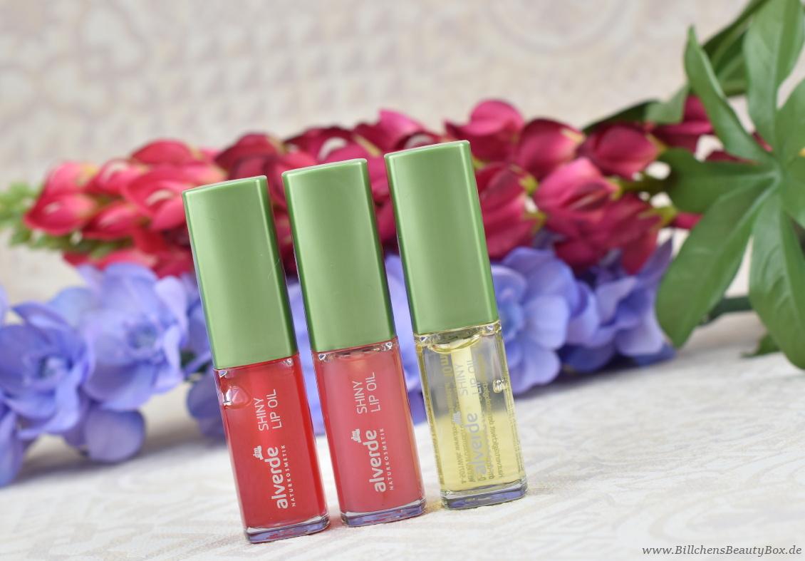 alverde Naturkosmetik - Make-Up Review Favoriten 2018 - Shiny Lip Oil Lippenöl