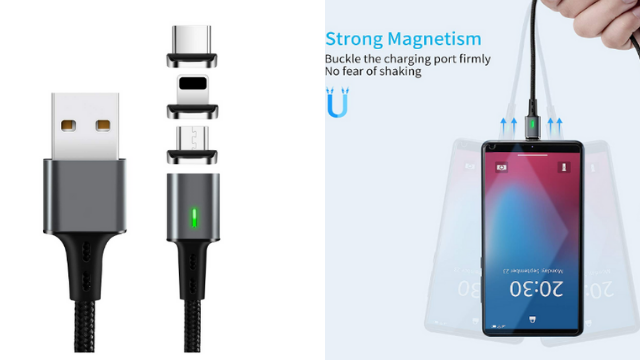 Magnetic Data Charging Cable