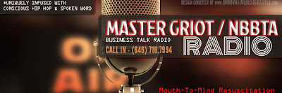 BeyondTalk with Faith Moore-McKinney airs Live 2nd and 4th Tues on Master Griot / NBBTA Radio