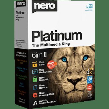 Download Nero Platinum 2019 Suite v20.0.05900 Full version