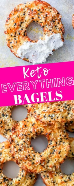 Easy Keto Everything Bagels Recipe
