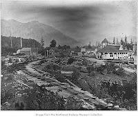 Snoqualmie 1897. Northwest Railway Museum Collection.